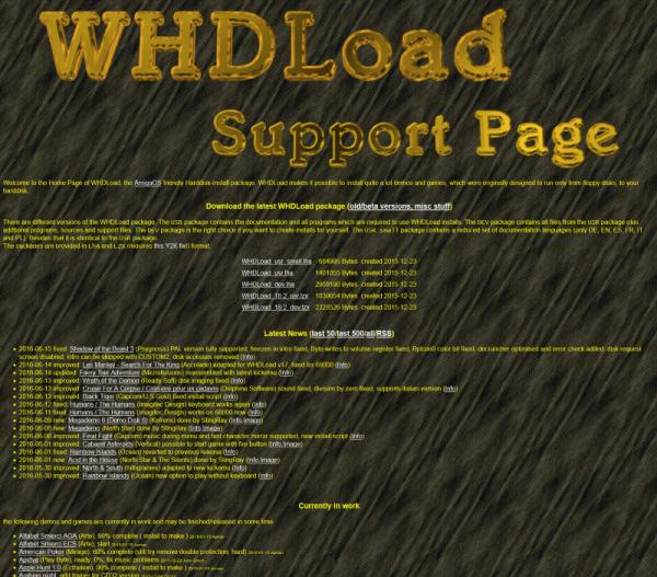 WHDLoad - Installation et utilisation