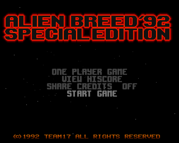 Alien Breed : Special Edition 92